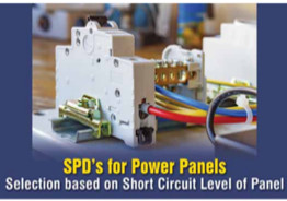 SPD's for Power Panels- Selection based on Short Circuit Level of Panel