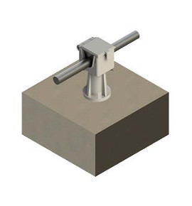 Flat Roof Conductor Holder