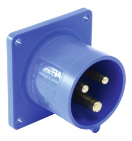 Industrial Flanged Plugs - CEE Type - Insulated