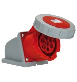 Industrial Seven Pole Sockets - CEE Type - Insulated