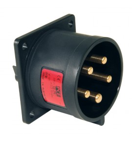 Flanged Plugs For Light & Sound Industry ( Event Industry ) - CEE Type - Insulated